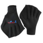 New 1 Pair Swim Webbed Gloves Fins Swimming Paddles Diving Training Tool For Adult Children