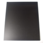 New 250X420mm 3K Carbon Fiber Board Carbon Fiber Plate Twill Weave Matte Panel Sheet 0.5-5mm Thickness