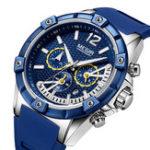 New MEGIR 2083G Military Design Chronograph Men Quartz Watch