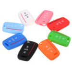 New Silicone Remote Key Cover 3-Button Fob Case Shell for Volkswagen VW Golf 7 MK7