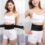 New Women Men Waist Support Belt Thermal Self-heating Lumbar