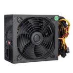 New 800W Computer Power Supply Module PC 24Pin SATA 6Pin 8Pin LED Fan 140mm