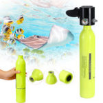 New 0.5L Oxygen Spare Scuba Air Tank Underwater Mini Cylinder Breathing Bottle Diving Equipment