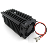 New 72x32x32mm 12mm Aluminum Heat Sink Groove Cooling Fan Fixed Radiator Seat for 12mm Laser Diode Module