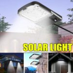 New Solar Power 1000LM 15 LED Street Light Flood Lamp Spotlight for Outdoor Garden
