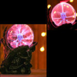 New 6.7 Inch Magic Skeleton Plasma Ball Sphere Light Crystal Light Magic Desk Lamp Decor