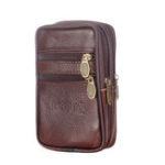 New Faux Leather Casual Zipper Phone Bag Waist Bag Coin Bag