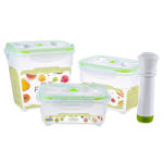 New Plastic Vacuum Storage Box Lunch Box Microwave Dishwasher Safe Food Container Kitchen Storage Container