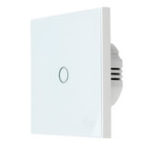 New Coolcam Z-Wave 1 Gang Smart EU Wall Light Switch Touch Panel 868.4MHz 300 & 500 Series