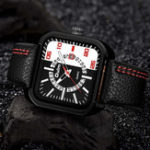 New OULM HP3876 Date Display Fashionable Men Wrist Watch