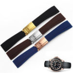 New KALOAD Waterproof Rubber Watch Band Bracelet Strap With 20mm Stainless Steel Watch Band Buckle