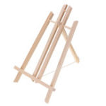 "New 16"" Wood Easel Advertise Exhibition Shelf Display Holder Studio Painting Stand Bracket"