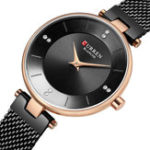 New CURREN 9031 Ultra Thin Dial Case Elegant Design Women Watch