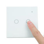 New NEO WiFi On/Off Switch Light Switch 2Gang Wireless EU Light Control Smart Switch EU Remote Conrtol