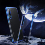 New Baseus Transparent Plating Shockproof Soft TPU Back Cover Protective Case for Huawei P30