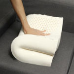 New Large Latex Pillow Rebound Foam Function Neck Fatigue Relief