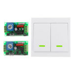 New 315MHz AC220V Remote Control Switch Wall Transmitter Radio Frequency Power Switch Interrupter Remote Controller