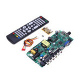 New TP.VST59.PA671 Power Motherboard Integrated LCD TV Driver Board Instead of TP.VST59.P67 with Contral Remate