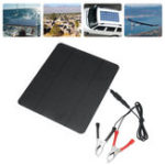 New 20W 12V Solar Panel For Phone Battery Charger RV Boat Camping 5V USB 2.0 Port