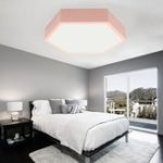 New Modern LED Ceiling Light Ultra-Thin Surface Mount Lamp Home Bedroom Living Room 220V