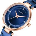 New MINI FOCUS MF0235L Casual Design Steel Women Quartz Watch