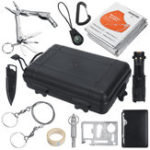 New 11 in1 SOS Emergency Camping Survival Equipment Tools Kit Outdoor Tactical Hiking Gear
