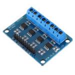 New L9110S 4 Channel DC Stepper Motor Driver Board H Bridge L9110 Module for Arduino Intelligent Vehicle