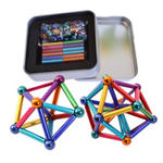 New 27PCs Buck Ball 36PCs Magnetic Toys Multi-color Bar Intelligent Stress Reliever With Box
