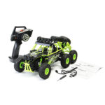 New Wltoys 18628 1/18 2.4G 6WD Brushed Rc Car Rock Crawler with Front LED Light RTR Toys