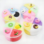 New Four-color Slime Unmixed Fruit Dessert Animal Snow Rice Cotton Mud Clay 120ml