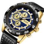 New MEGIR 2096 Luxury Sports Style Chronograph Men Quartz Watch
