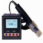 New PH Meter ORP Meter Digital Monitor 0.02pH 1mV Upper Limit Control PH Alarm Control Tester With Probe