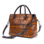 New Women Cowhide Genuine Leather Vintage Handbag