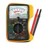New KTI KT7003 Mini Analog Multimeter Original Authentic Overload Protection Voltage Current Battery Test