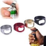New HONANA Stainless Steel Openers Finger Ring Shape Bottle Opener Bar Tools Kitchen Opening Tools