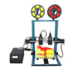 New TL-D3 Dual Extruder 3D Printer Kit 300*300*400mm Printing Size Support Dual Nozzle Print with 7-axis Motor Motherboard