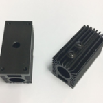 New 12mm Aluminum Heat Sink Groove Fixed Radiator Seat for Laser Module Parts Cooling Mount Holder