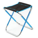 New Outdoor Portable Folding Chair Aluminum Seat Stool Picnic BBQ Beach Chair Max Load 100kg