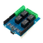 New 4 Channel 5V Relay Module Relay Control Shield Relay Expansion Board For Arduino