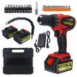 New Pro 88V High Torque 54N.m Electric Hammer Brushless Cordless Multifuction Drill