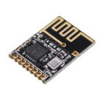 New 20pcs 2.4G Patch Wireless Module XH-NF-03 On Board Antenna SPI Interface Internet Module