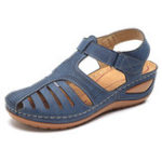 New LOSTISY Women Casual Shoes Hollow Out Soft Sole Sandals