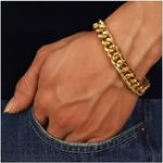 New Trendy Stainless Steel Chain Bracelet