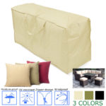 New Outdoor Garden Patio Furniture Waterproof Cover Dust Rain Protector Cushion Storage Bag Case