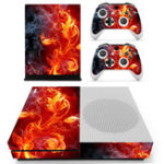 New Color Series Designer Skin for XBOX ONE S Game Console And 2pcs Controller Sticker