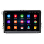 New 9 Inch WIFI Bluetooth HD Car DVR MP5 Player Radio Stereo GPS Navigation For VW Volkswagen