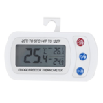 New TS-BY53 White ABS Plastic Shell Waterproof Digital LCD Thermometer Instruments With Hanging Hook