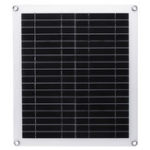 New 20W Portable Solar Panel Kit Dual USB Polycrystalline Silicon Cell Solar Panel