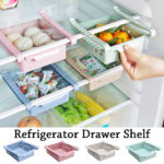 New Refrigerator Storage Box Fridge Fruit Food Container Rack Home Kitchen Organizer