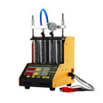 New AUTOOL CT150 Car Fuel Injector Tester Ultrasonic Cleaning Cleaner for Vehicle Repair 4 Cylinder Diagnostic Tool